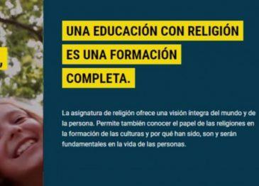 Clase de religión católica: ¡ME APUNTO A RELIGIÓN!