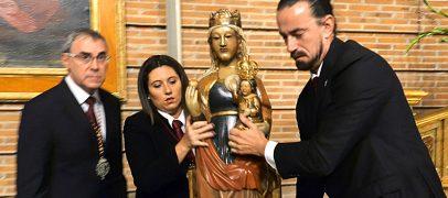 Bajada de la Virgen de San Lorenzo de su Camarín
