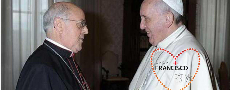 Don Ricardo acompaña al papa Francisco en Fátima