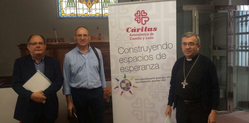 Cáritas autonómica de Castilla y León presenta su memoria de actividad 2016