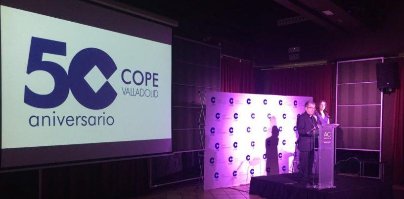 La cadena COPE celebra cincuenta años de emisión en Valladolid