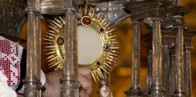 Recorrido y ubicación de los altares de la procesión del Corpus Christi