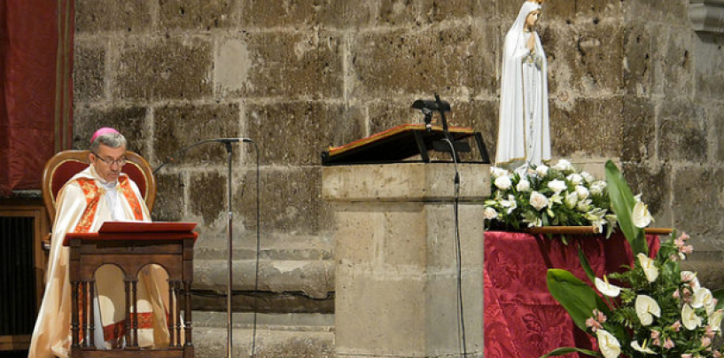Bienvenida a la imagen peregrina de la Virgen de Fátima