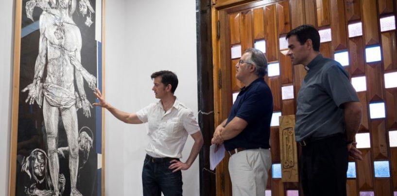 El arquitecto y pintor Santiago Bellido dona dos obras al Seminario Diocesano de Valladolid