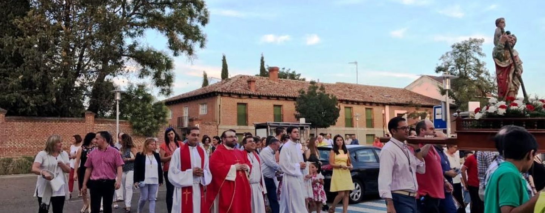 La comunidad de Boecillo celebra San Cristobal