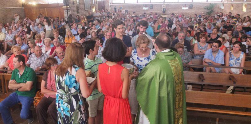 Celebración del Día de los Abuelos en Viana de Cega