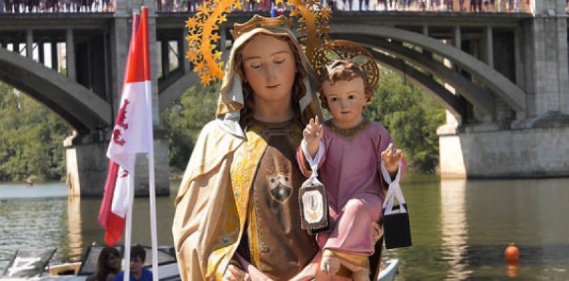 Misa y procesión Fluvial Ntra. Sra. del Carmen