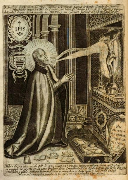DETRÁS DE FRANCISCO DE BORJA, HAY UNO DE LOS GRANDES PERSONAJES DEL SIGLO XVI