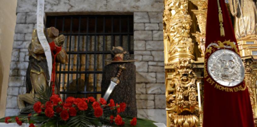 La cofradía de la Sagrada Pasión celebra San Juan Degollado