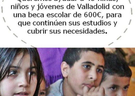 Campaña de becas escolares de Red Íncola