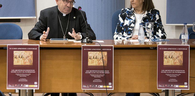 La Uva estudia el potencial historiográfico de los archivos de la Iglesia