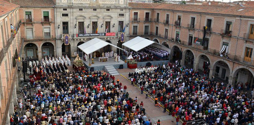 D. Ricardo inauguró el Año Teresiano