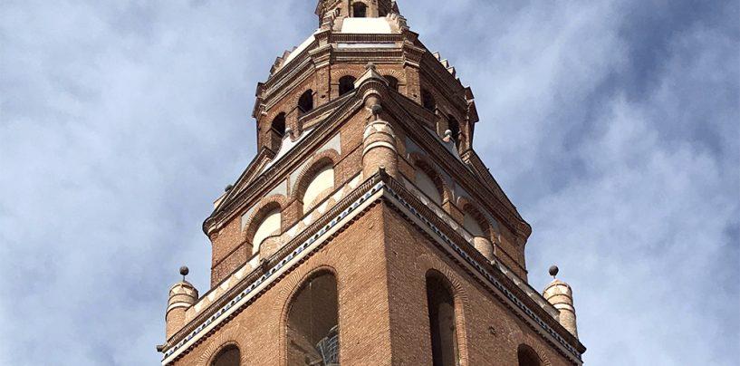 Concluye la restauración de la torre de Santa María de Alaejos