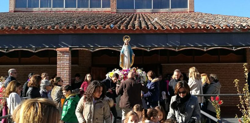 La parroquia Viana de Cega celebró la Fiesta de la Virgen Milagrosa