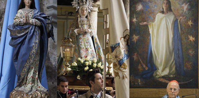 Devoción en Valladolid a la Inmaculada Concepción de la Virgen María