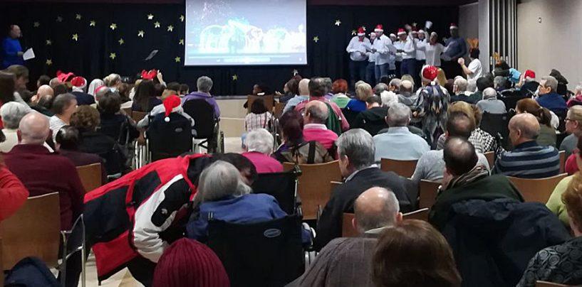 Festival de Navidad en el C.H. Benito Menni