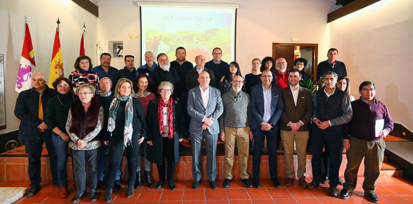 Reunión de los 34 ayuntamientos vinculados a los Caminos a Santiago en Valladolid