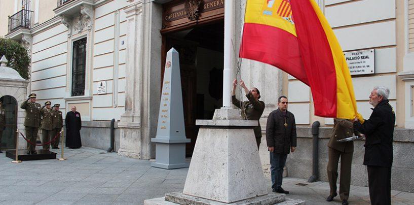 La Junta de Cofradías invitada en el Arriado Solemne de la Bandera Nacional