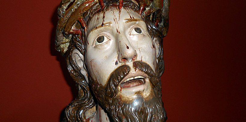 El Museo de San Francisco de Rioseco cede al de Semana Santa un ecce homo del siglo XVII para su exposición