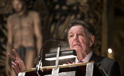 Ángel María de Pablos pronunció el Pregón de la Semana Santa 2018