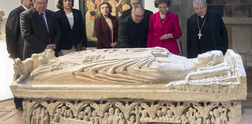 La Reina Sofía inauguró 'Mons Dei'