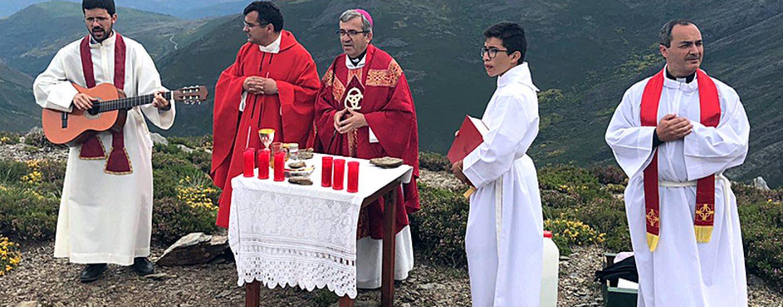 Campamento del Seminario en Corporales (León)