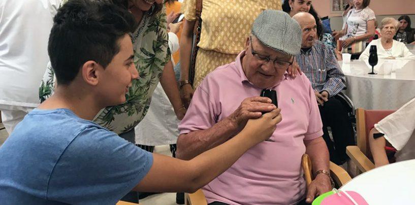 El Centro Hospitalario Benito Menni celebró el Día de los Abuelos