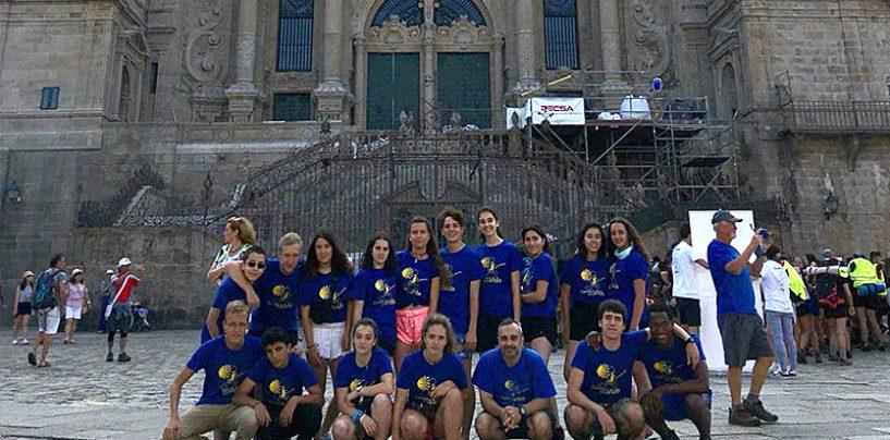Alumnos de los IES Campos y Torozos de Medina de Rioseco, Santo Tomás de Aquino de Íscar y del Seminario realizan el Camino de Santiago Portugues