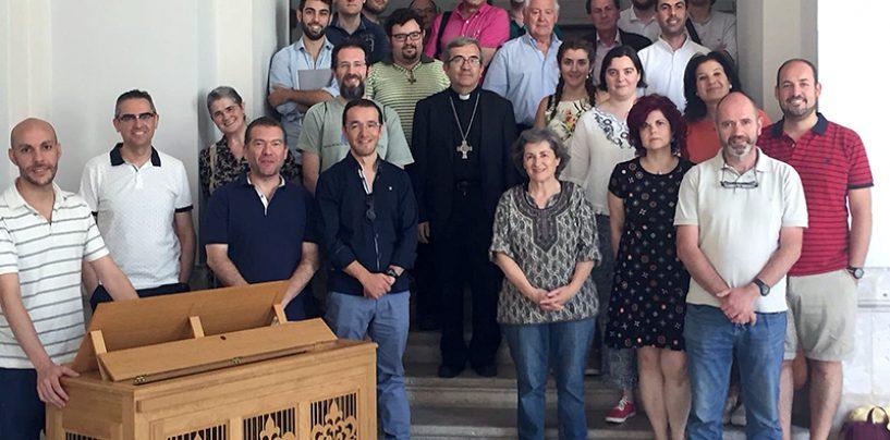 D. Luis Argüello clausuró el Curso Nacional de Organistas Litúrgicos