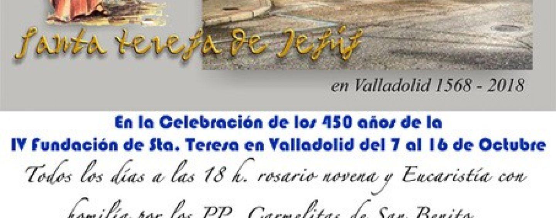 Cultos y cultura para festejar el 450 aniversario de las Carmelitas de La Rondilla