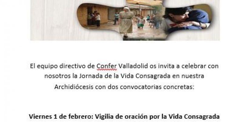 CONFER convoca a una Vigilia en San Lorenzo además de a la Misa por la Vida Consagrada en los jesuitas