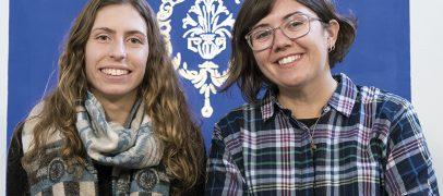 Mieria Ferreras y Paula Vinent, vallisoletanas participantes en la JMJ de Panamá