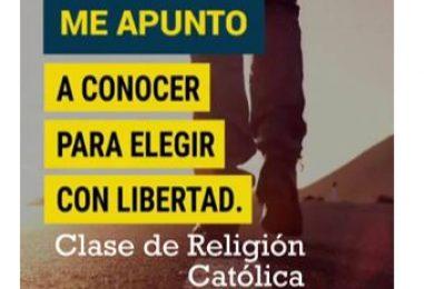 Religión católica en la escuela, sí o sí