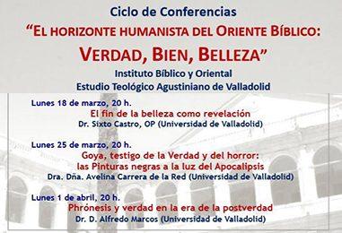 Ciclo de Conferencias: El horizonte humanista del Oriente Bíblico