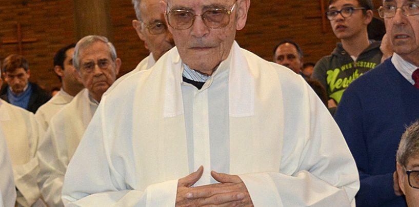 Gracias Padre Quirino Blanco por tanto bien entregado