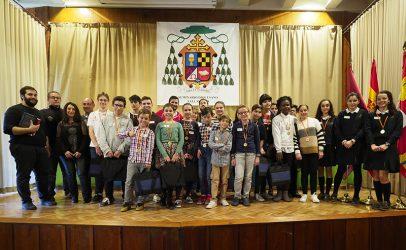 Alumnos de los Colegios Jesús y María, Ave María y Seminario Menor ganan la fase por equipos de ReliCatGames II