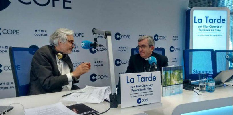 """Don Luis Argüello apuesta en COPE por una educación """"que ayude a formar personas en un mundo en  cambio"""""""
