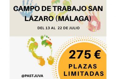 Campo de Trabajo de Pastoral Juvenil (Málaga, del 13 al 22 de julio)