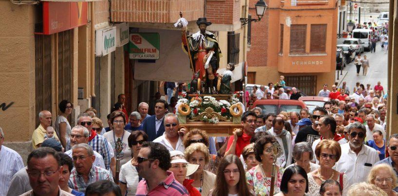 Medio centenar de pueblos honran a la Virgen y San Roque