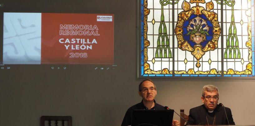 120.000 personas vulnerables de Castilla y León sebeneficiaron de los proyectos sociales de Cáritas en 2018