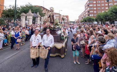 Festividad de Nuestra Señora del Carmen en Delicias