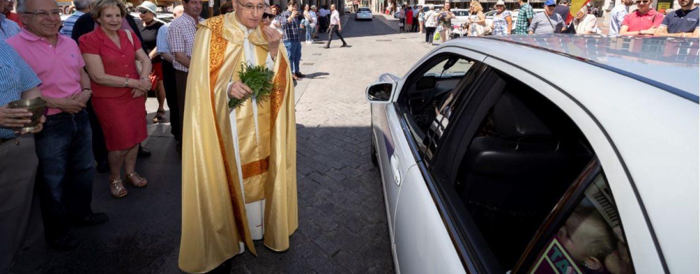 Los transportistas celebran a su patrón, San Cristóbal