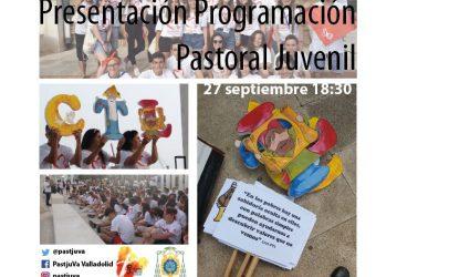 Pastoral Juvenil te invita al acto de inicio de curso, el 27 de septiembre