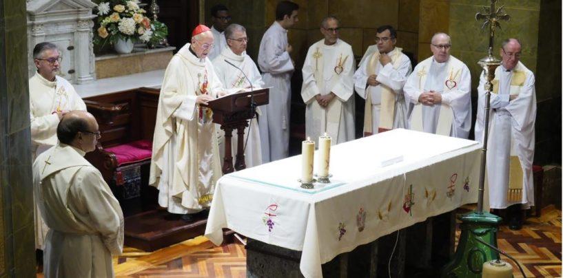 Don Ricardo inaugura el curso en El Estudio Teológico Agustiniano