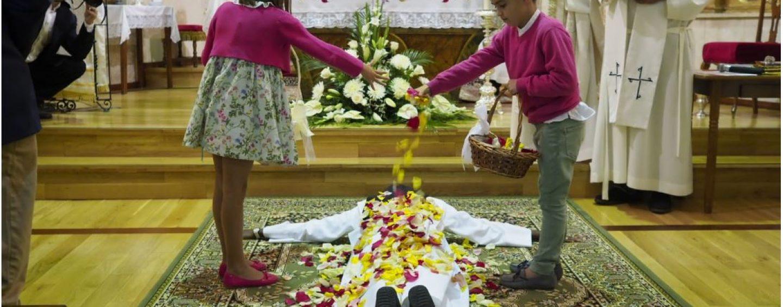Profesión de la dominica Sor María Fe en Mayorga