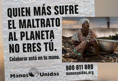 Quien más sufre el maltrato al planeta no eres tú