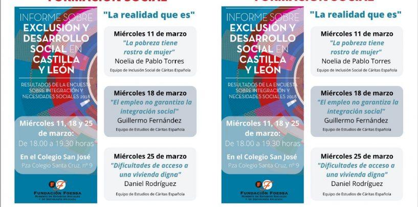 Escuela de Formación Social de Cáritas (11, 18 y 25 de marzo)
