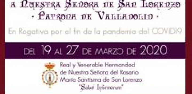 Comienza la Novena Extraordinaria de rogativas a Nuestra Señora de San Lorenzo