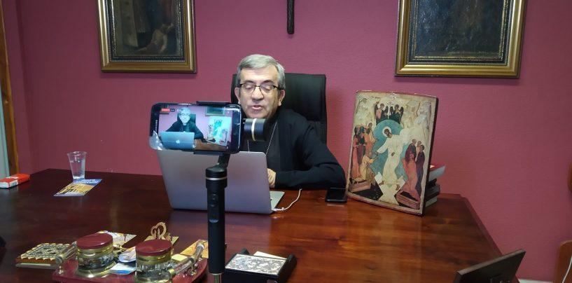 """D Luis Argüello: """"Los obispos propondrán donar parte de su sueldo y del de los sacerdotes a los afectados por crisis"""""""