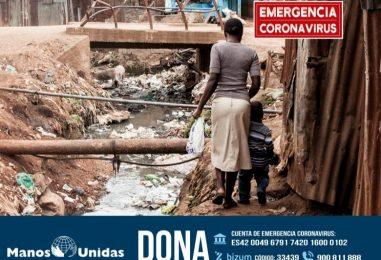 Campaña de emergencia de Manos Unidas por el COVID-19
